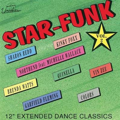 STAR FUNK VOL 2 (MADE IN CANADA) (LABEL UNIDISC) (8 TITRES MAXI VERSIONS)