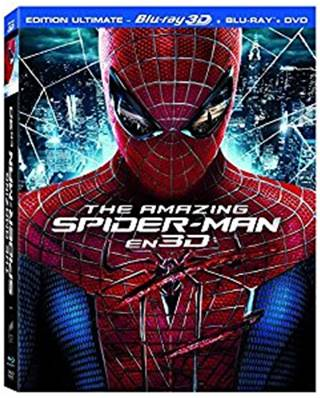 THE AMAZING SPIDER-MAN -COMBO BLU-RAY 3D - BLU-RAY - DVD-