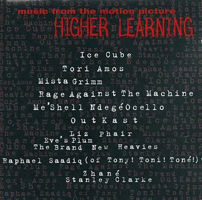 *CD* HIGHER LEARNING (MUSIC FROM THE MOTION PICTURE) (ALBUM 1994)