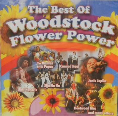 *CD* WOODSTOCK - THE BEST OF WOODSTOCK FLOWER POWER (COMPILATION 18 TITRES)