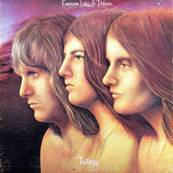 EMERSON LAKE AND PALMER - TRILOGY (EDITION MANTICORE) (1973)