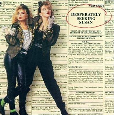 *VINYLE-33T.* DESPERATELY SEEKING SUSAN & MAKING MR. RIGHT (ORIGINAL SOUNDTRACKS) MADONNA