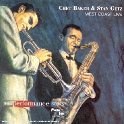 CHET BAKER AND STAN GETZ - WEST COAST LIVE (2 CD)