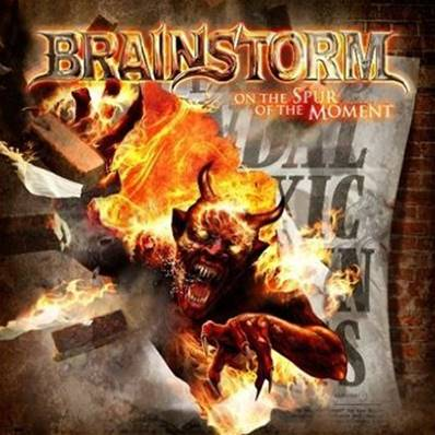 BRAINSTORM - ON THE SPUR OF THE MOMENT (ALBUM 2011) (METAL)