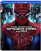 *Blu-Ray.* THE AMAZING SPIDER-MAN -COMBO BLU-RAY 3D - BLU-RAY - DVD-