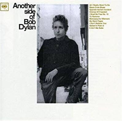BOB DYLAN - ANOTHER SIDE OF BOB DYLAN (ALBUM 1964)